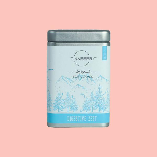 Digestive Zest Tea Box