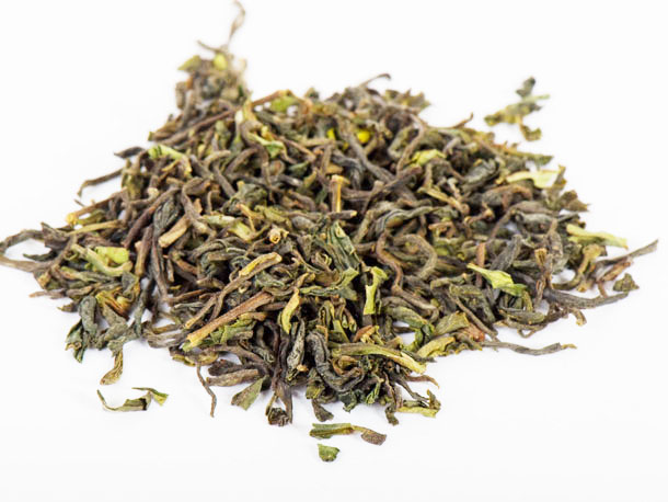 Darjeeling-tea-leaves